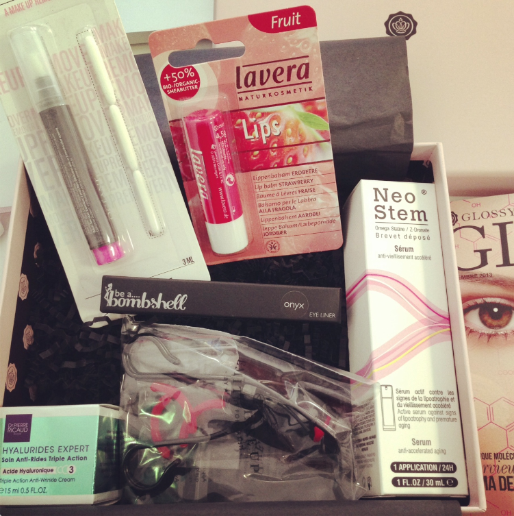 glossybox-septembre2013 beauty lab septembre 2013