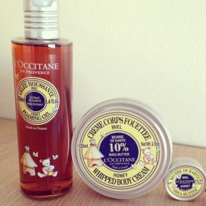 occitane miel et karité