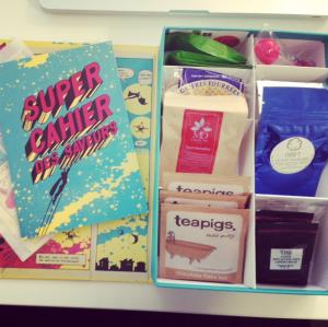 La thé box septembre : super héros