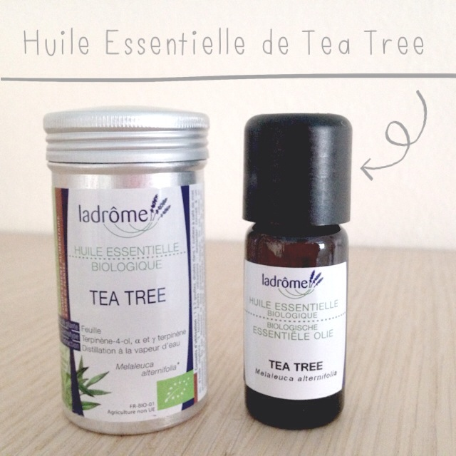 coline et son dino huile essentielle tea tree