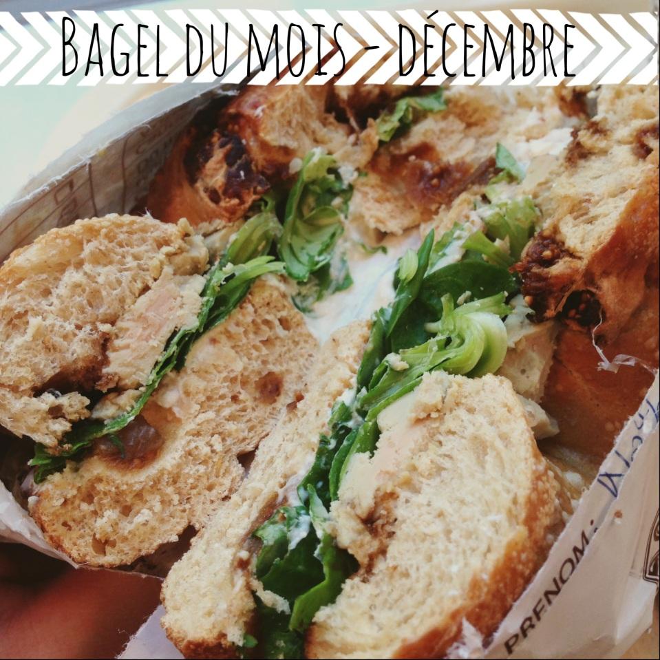 bagelstein bagel mois de décembre