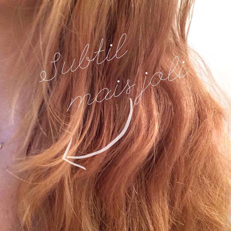 coline et son dino - Gele Claircissante Garnier Sur Cheveux Colors