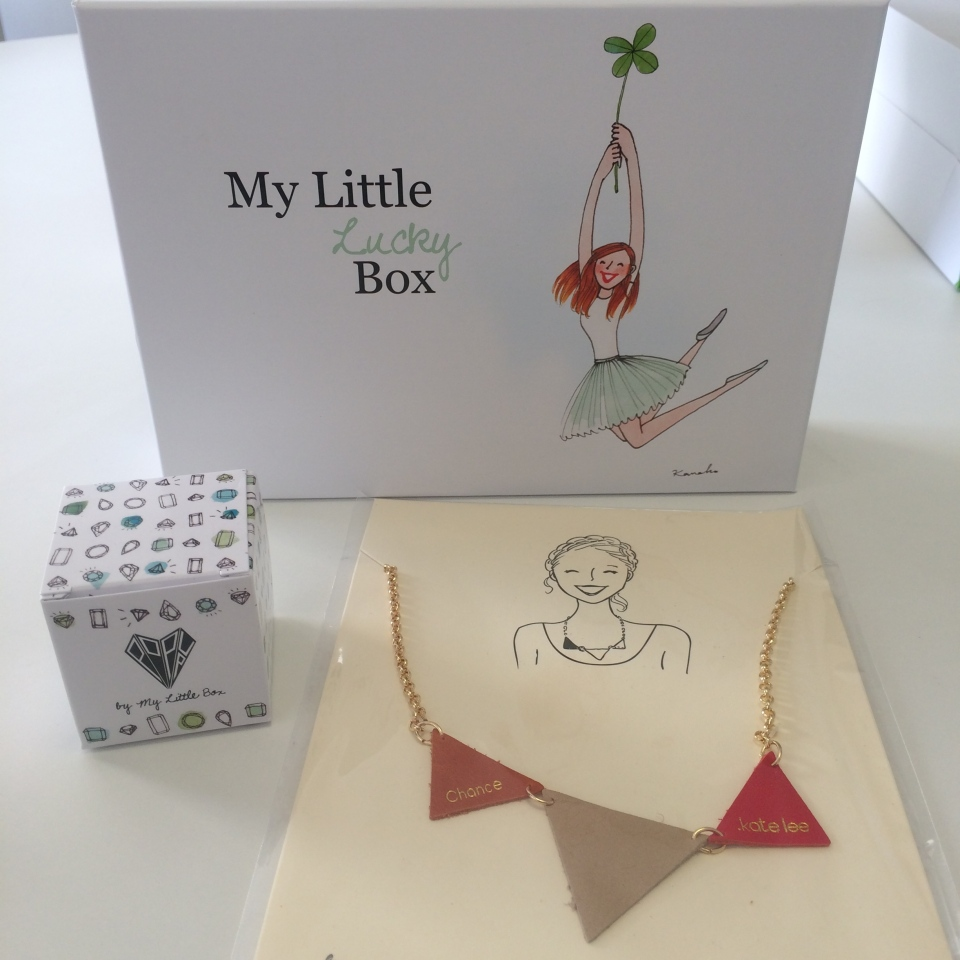 coline et sondino my little lucky box