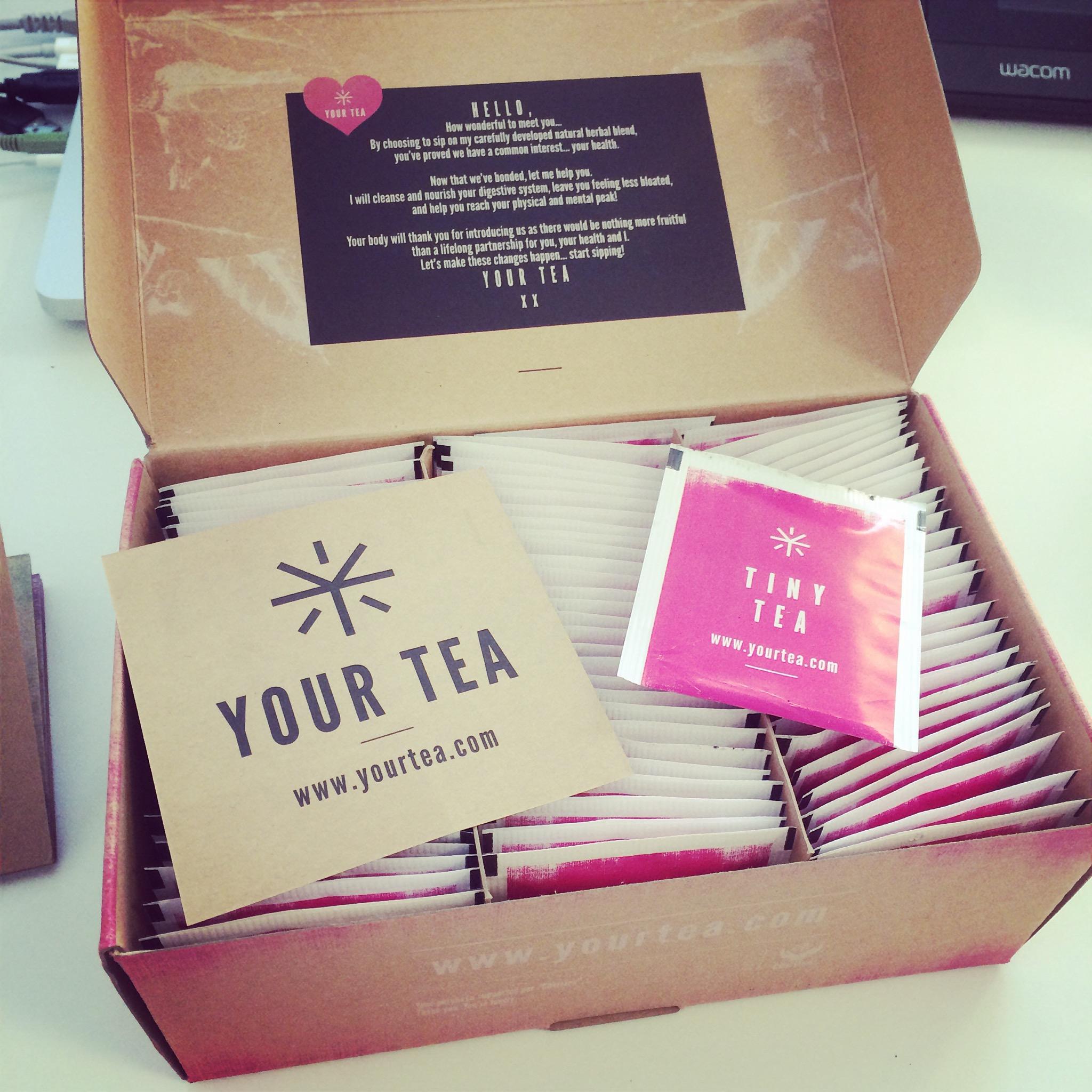 en route pour le test du tiny tea de your tea 28 jours coline et son dino. Black Bedroom Furniture Sets. Home Design Ideas